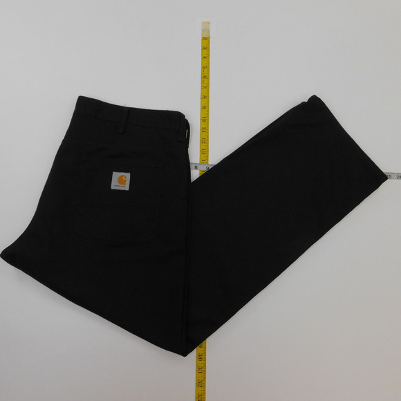 gorące wyprzedaże bardzo tanie buty sportowe Carhartt 38x30 Black Work Monty Pants D-11-91735
